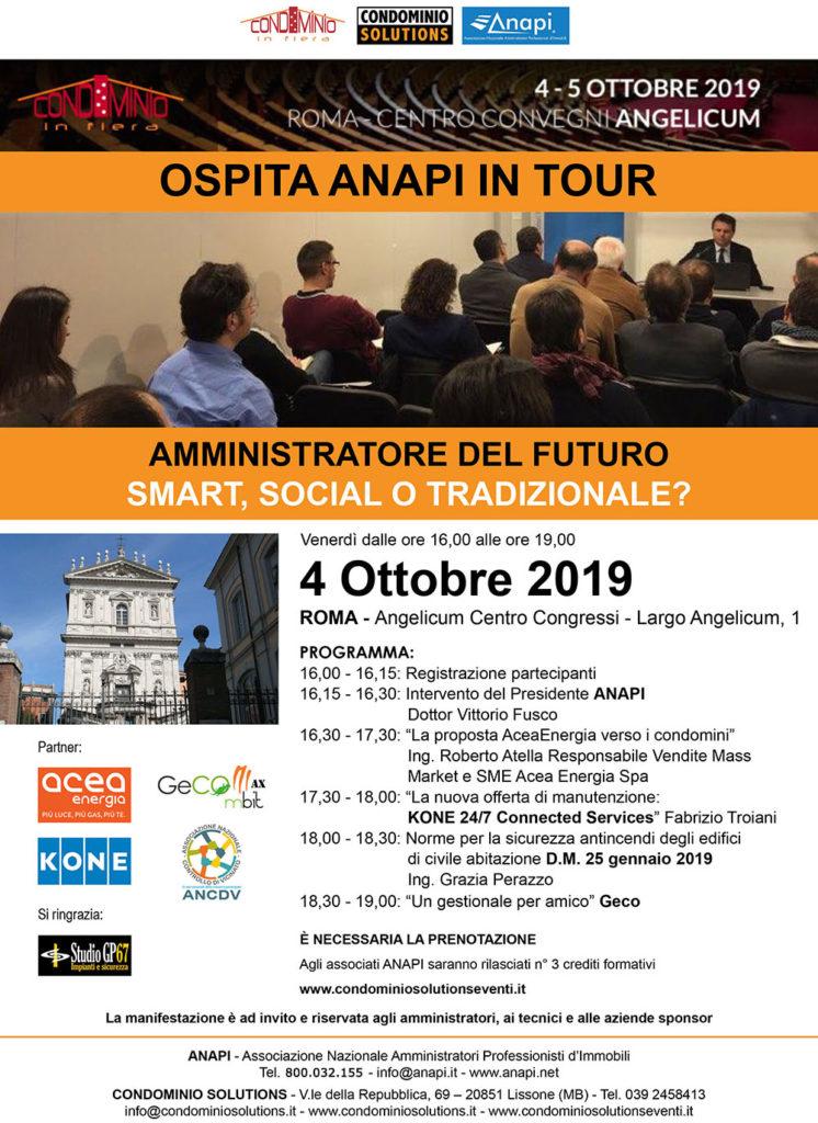 ANAPI in tour Roma