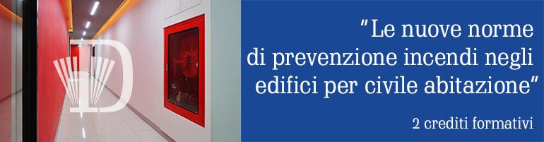 nuove norme prevenzione incendi